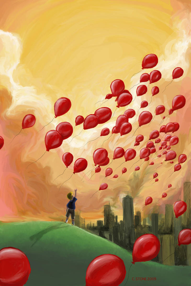 99 Red Balloons By HelenaSun
