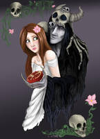 Hades and Persephone by HelenaSun