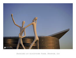Dancers Sculptures, Denver by imucus