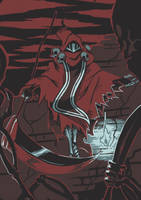 Specter Knight by KoiDrake