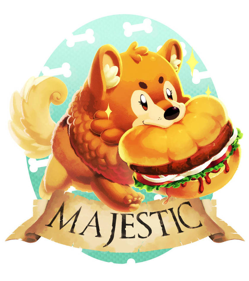 Majestic Doggo by KoiDrake