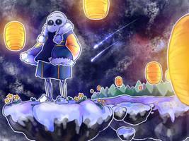 SPEEDPAINT - Stardin [Undertale AU - Outertale] by Mirachaan