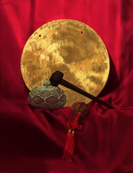 still life - gong by aicus