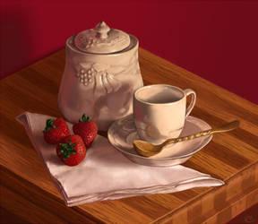 Still life - light breakfast by aicus