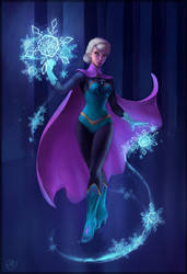 The Snow Queen by aicus