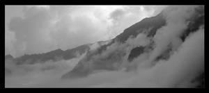 Hidden mist village by CAFxX