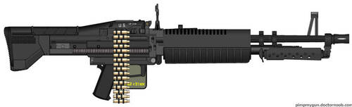 U.S. Ordnance M-60 by GeneralTate