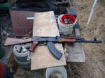 Romanian WASR-10 New Wood Furniture by GeneralTate