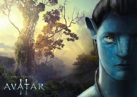Avatar - Fan art poster teaser by mhofever
