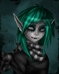 Lillith the Ghoul by xFallingSkyx