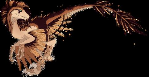 Venyl the Velociraptor by xFallingSkyx