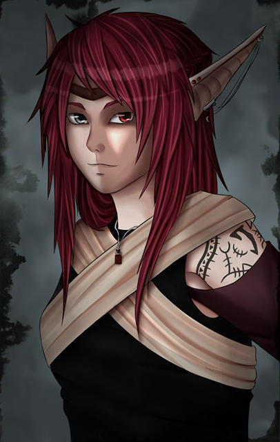 Ashe by xFallingSkyx