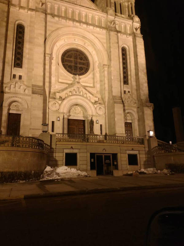 Cathedral at Night by Nevermore2310