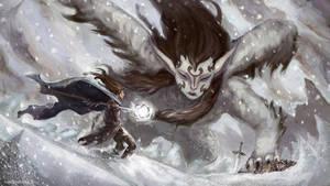 Winter Sphinx by vrass