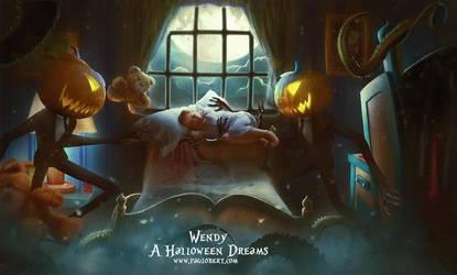 Wendy A Halloween Dreams by Paulo-Bert