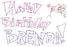 To Brenda by SnikkiPikkins