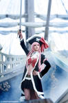 Captain Liliana Cosplay - Queen's Blade by yukinohanacosplayart