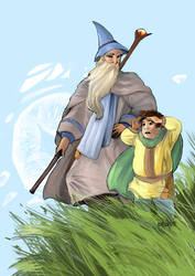 The Wizard. The Hobbit. by Moehypertunapyun00