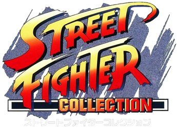 Street Fighter Collection logo (Japan) by RingoStarr39
