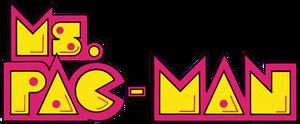 Ms. Pac-Man logo (US) by RingoStarr39
