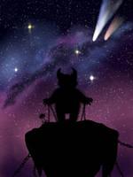 Monster in space by Duposlava