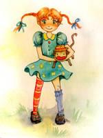 Pippi Longstocking by ORDOS-Kety