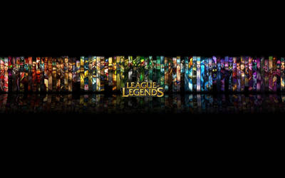 League of Legends by kamekpwns