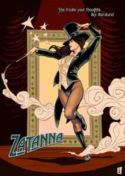 Zatanna: Magic Dance by ChrisEvenhuis