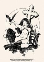 Vampirella: Jose Gonzalez Tribute by ChrisEvenhuis