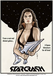 StarCrash Poster by ChrisEvenhuis