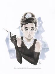 Audrey #2 by ChrisEvenhuis