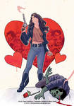 Wynonna Earp - Bloody Valentine cover by ChrisEvenhuis
