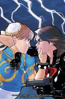 Street Fighter x G.I. Joe #3 Variant Cover by ChrisEvenhuis