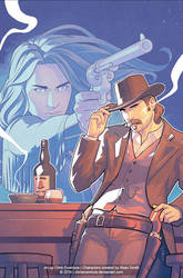 Wynonna Earp Legends: Doc Holliday #2 Cover by ChrisEvenhuis