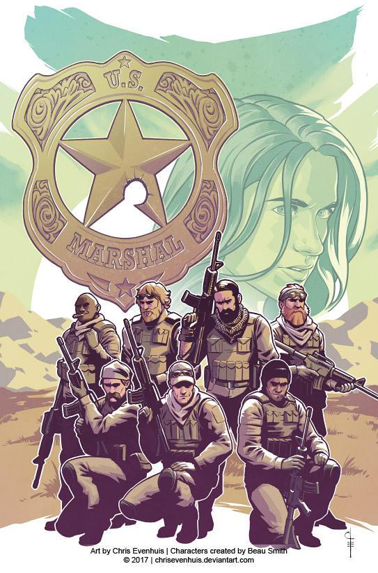 Wynonna Earp Season Zero #2 Cover by ChrisEvenhuis
