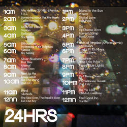24HRS Back Cover by rubberbend