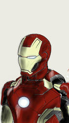 Ironman from Avengers:Age of Ultron by ameteratsu