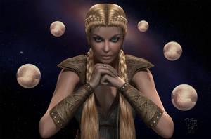 Freya - The Mother by Erulian