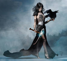 RavenMoon by Erulian