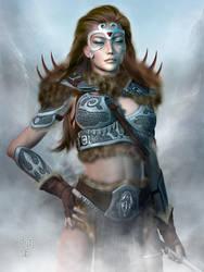 Daughters of Skyrim: The Warrior by Erulian