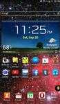 Samsung Galaxy Tab 3 home screenshot by Chernandez2020