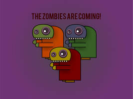 The Zombies are Coming by frazza7
