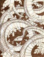 inktober 20: Kaa by Anvonavi