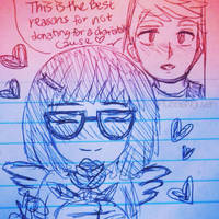 Valentine Special: Tina x Jimmy Jr by hunnienguyen