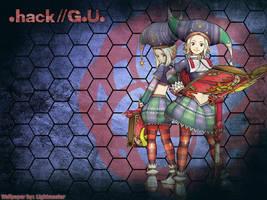 Wallpaper Hack: Sakubo by shirotsuki-hack