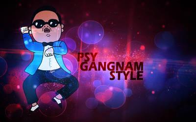 PSY-Gangnam Style Wallpaper by NikCompany