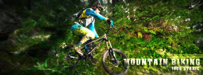 Mountain Biking Facebook COVER by NikCompany