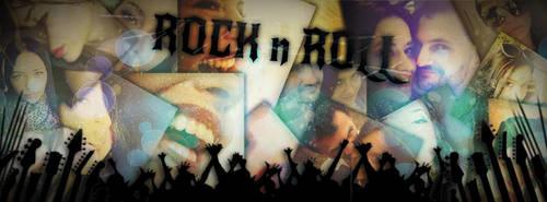 Rock n Roll Facebook COVER by NikCompany