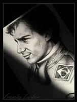 Ayrton Senna by HLea33