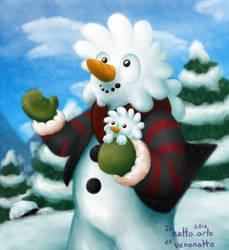 Snow friends! by VenoNatto